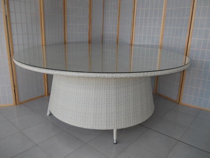 Mobili da giardino tavoli arredamento per esterno rattan - Tavoli rotondi da esterno ...