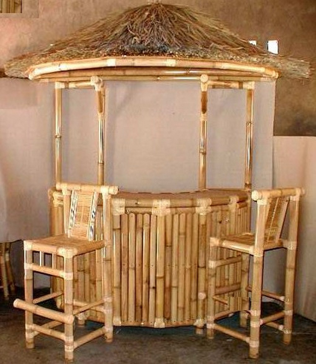 Sik 2300 mobile bar bambu mobile bar rettangolare in bamb for Bambu vendita on line