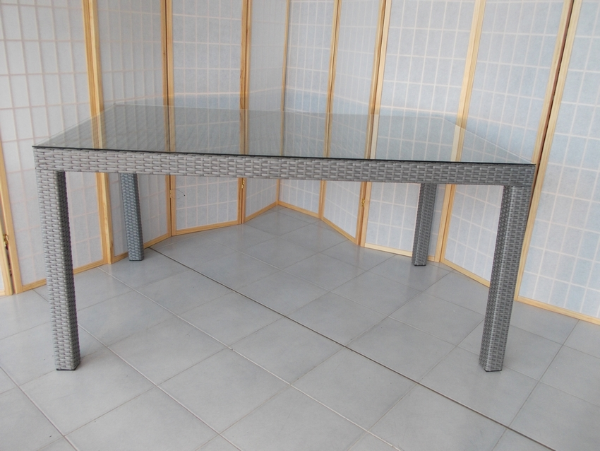 Mobili da giardino rattan sintetico arredamento per esterno for Mobili giardino rattan sintetico