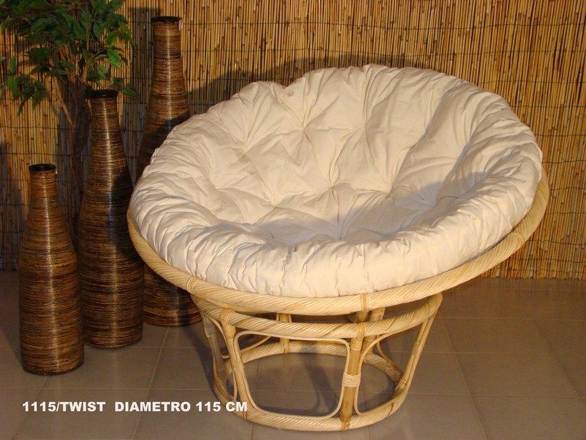 Poltroncine da esterno in rattan tavolo e sedie in rattan for Poltrone vimini ikea