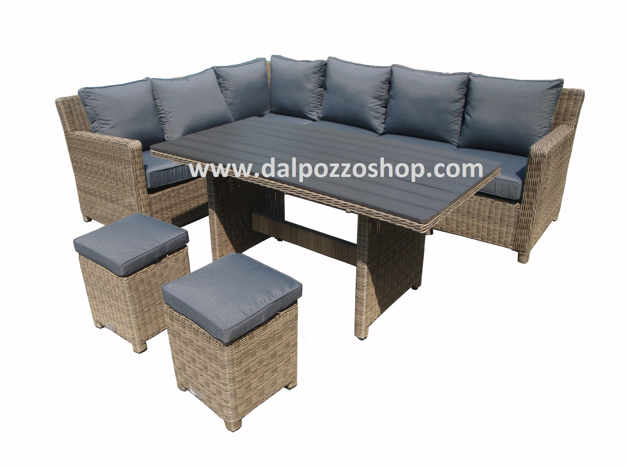 Salotti In Wicker.Dal Pozzo Andrea Shop In Line Baskets Rattan Furniture