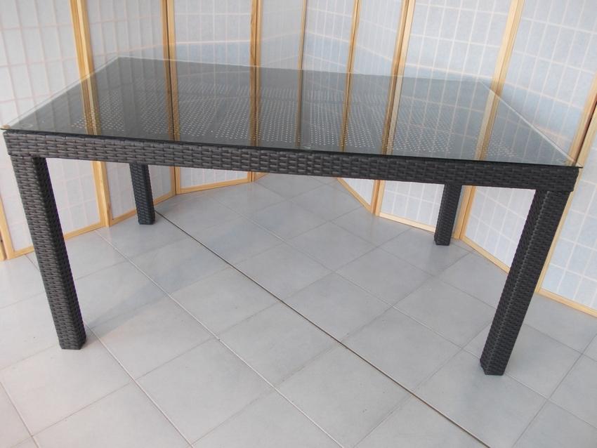 Tavoli da giardino rattan sintetico idee creative e - Tavoli per esterno ...