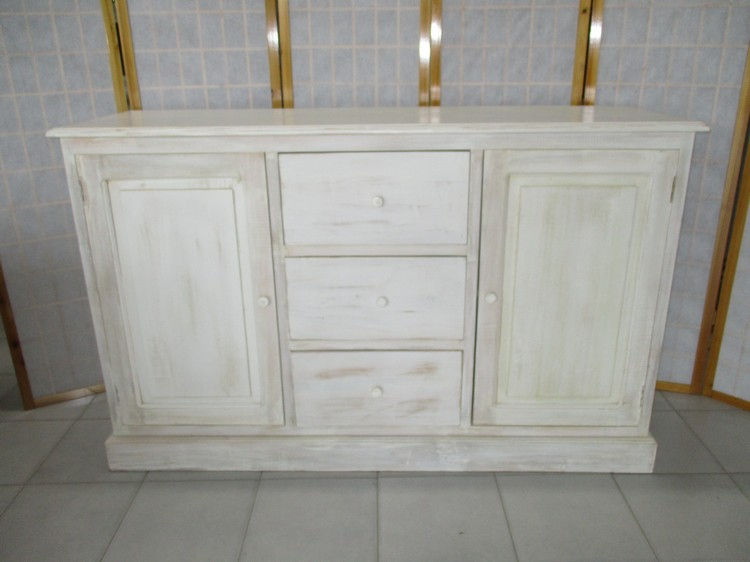 Decapare Il Legno. Stunning Shabby Chic Mobili Decapato Bianco With ...