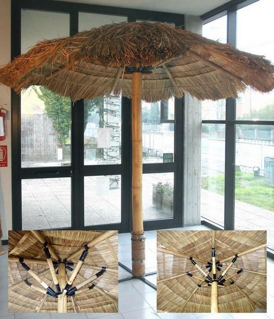 Ombrelloni In Paglia Da Giardino.A160 B Ombrellone Paglia Canna Bambu Cm 260 Richiudibile Ombrellone Paglia Bambu Cm 260 Richiudibile A160 B 240 00 Dal Pozzo Shop Cesteria Arredamento Rattan