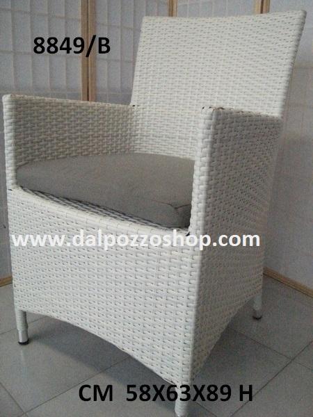 Sedie Esterno Rattan Sintetico.Mobili Arredamento Giardino Per Esterno Poltrone Rattan